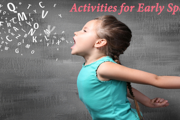 Speech Therapy – Activities for Early Speech